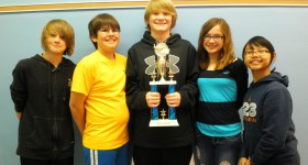 Burdick students excel at math competition