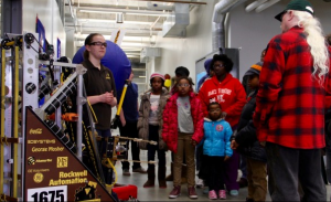 Robotics Team 1675 displayed and demonstrated its projects during a recent open house.