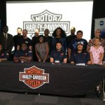 Harley-Davidson signs 4 youth apprentices