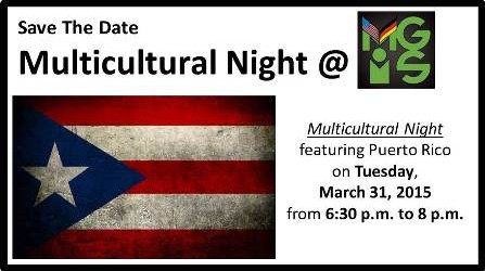 Multicultural Night 2015