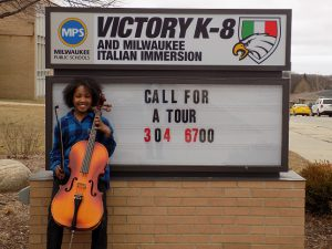Milwaukee Youth Symphoy Orchestra Student Performance!